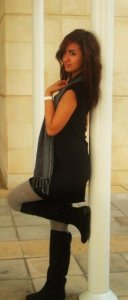 various pictures of Nina Abdel Malak from Lebanon after she left star academy 8