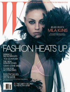 Mila Kunis photo shoot for the March 2011 issue of W magazine 7