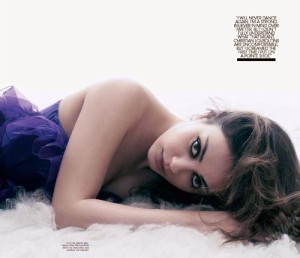 Mila Kunis photo shoot for the March 2011 issue of W magazine 1