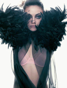 Mila Kunis photo shoot for the March 2011 issue of W magazine 3