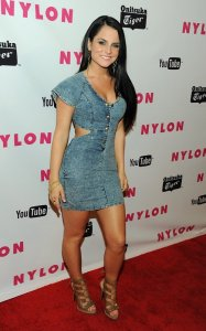 JoJo spotted on May 4th 2011 at the NYLON Magazines Young Hollywood celebration 1