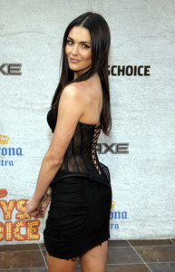 Taylor Cole at the Spike TVs 5th Annual 2011 Guys Choice Awards held on June 5th 2011 at the Sony Pictures Studios in Los Angeles 3