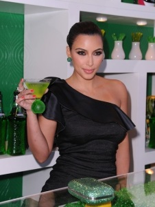 Kim Kardashian attends the Midori Melon Liqueur launch on May 10th 2011 at the Midori Trunk Show 4