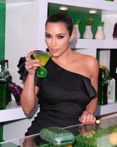 Kim Kardashian attends the Midori Melon Liqueur launch on May 10th 2011 at the Midori Trunk Show 6