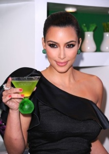 Kim Kardashian attends the Midori Melon Liqueur launch on May 10th 2011 at the Midori Trunk Show 3