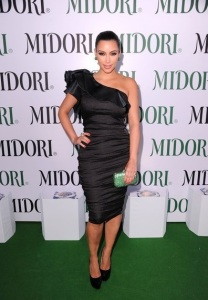 Kim Kardashian attends the Midori Melon Liqueur launch on May 10th 2011 at the Midori Trunk Show 1