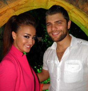 picture from I love Chocolate Children Event Cancer Benifit event of star academy student Michel Azzi and Nina Abdel Malek 2