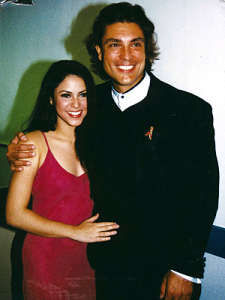 Osvaldo Rios red carpet events along with ex girlfriend SHAKIRA