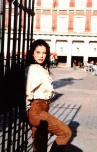 Coraima Torres old picture back in the ninetees 1