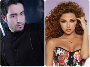 mariam fares and saad ramadan guests of the 13th prime of staracademy8 on June 24th 2011