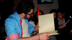 Mahmoud Shokry newest pictures at the opening of WIF retsaurant on June 26th 2011 in Zamalek Egypt 10
