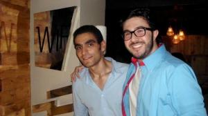 Mahmoud Shokry newest pictures at the opening of WIF retsaurant on June 26th 2011 in Zamalek Egypt 15