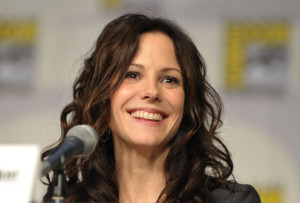 Mary Louise Parker speaks at the Anti Heroes of Showtime panel during Comic Con 2010 at San Diego Convention Center on July 22nd 2010 in San Diego