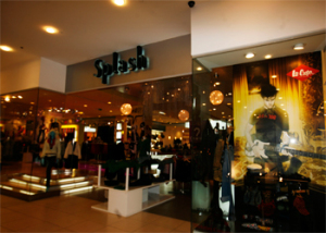 splash centerpoint store in mecca mall
