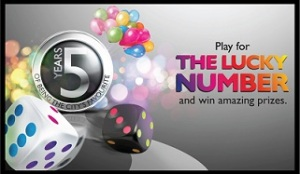 Play for the lucky number prizes at city mall in Amman