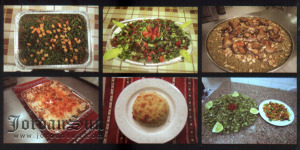 Circassian Charity Association Samawer menu dishes photo