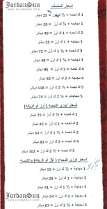 Circassian Charity Association Samawer menu page4