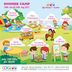 child concept summer camp
