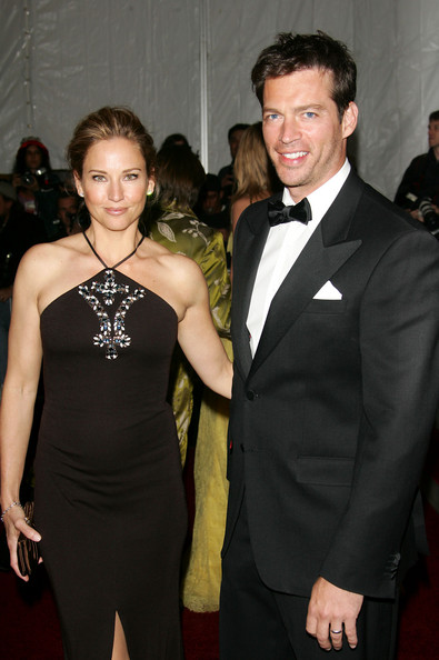 jill goodacre and husband Harry Connick Jr attend the ...