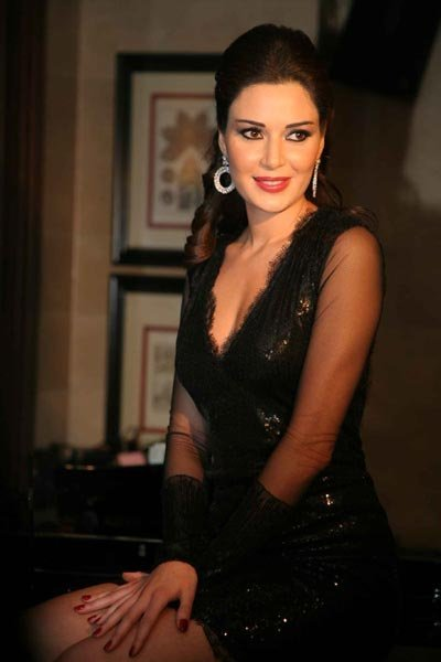 Vote For This Picture Cyrine Abdel Nour In A Black Dress So Far5 5 51 Votes