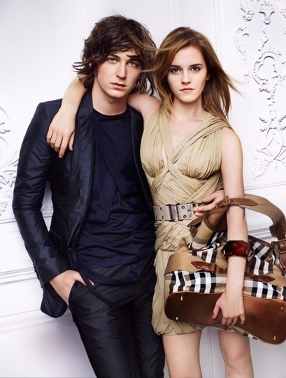 Emma Watson photo shoot for Burberry springsummer 2010 line campaign 11