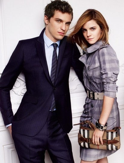 Emma Watson photo shoot for Burberry springsummer 2010 line campaign 12