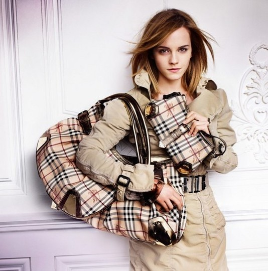 Emma Watson photo shoot for Burberry springsummer 2010 line campaign 3