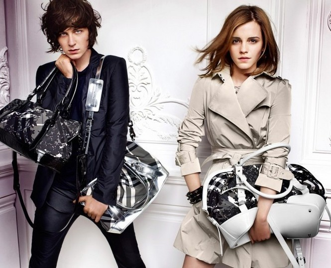 Emma Watson photo shoot for Burberry springsummer 2010 line campaign 6
