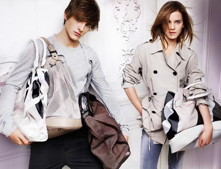 Emma Watson photo shoot for Burberry springsummer 2010 line campaign 4