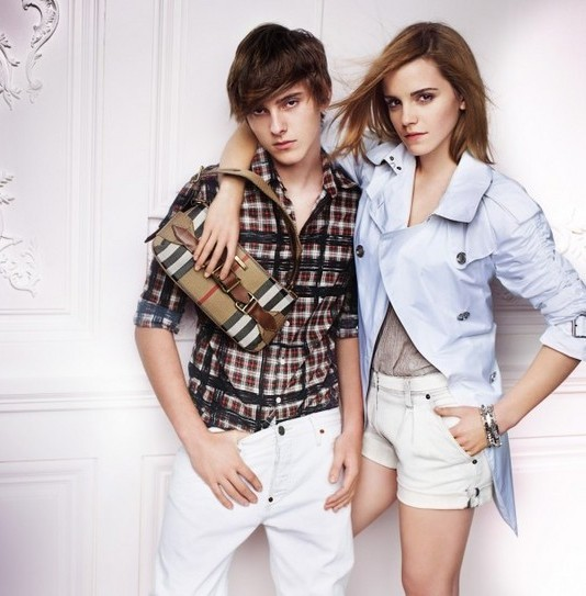 Emma Watson photo shoot for Burberry springsummer 2010 line campaign 8