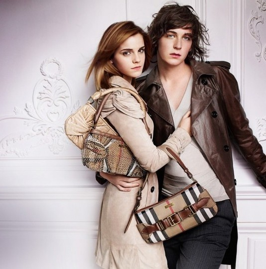 Emma Watson photo shoot for Burberry springsummer 2010 line campaign 5