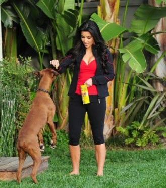 Kim Kardashian Rocky