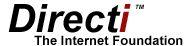 LOGO of the domain name registrar Directi
