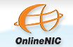LOGO of the domain name registrar onlinenic