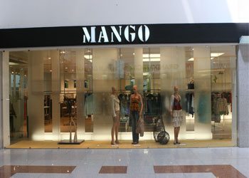 Mango Store Door View