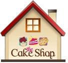 cake shop store logo