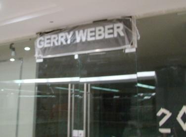Taj Mall inside photo of under construction Gerry Weber Store