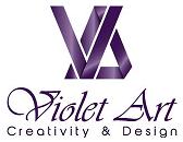 Voilet Art Logo