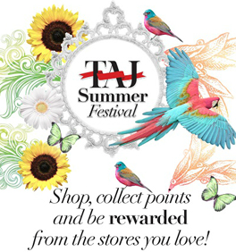 Taj Mall 2012 Summer Festival Advertisement