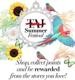 Taj Mall 2012 Summer Festival Advertisement