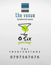 The Venue Event for Ramadan at O six Gastro