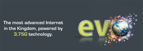 Evo Internet Umniah Poster Advertisement