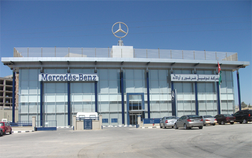 Mercedes Benz New Maintenance Building in Bayader Wadi Seer -  photo taken on August 7th 2012