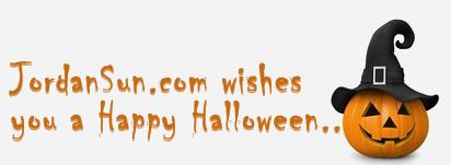 happy halloween from JordanSun Website