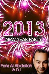 faris al abdallah new year party at clava lounge