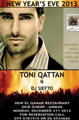 toni qattan new year party 2012