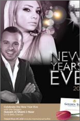 new year party at golden tulip hotel