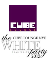 cube 2013 white new year eve party