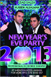 Sheraton 2013 new year party with ziad saleh and hussein al salman