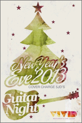 guitar new year eve at vivid cafe